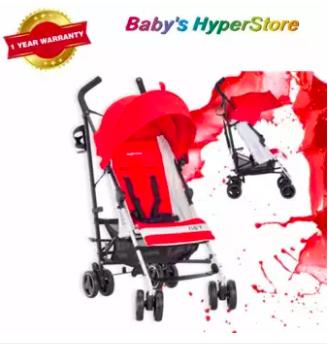 Inglesina  Net (Paprica - Red) Stroller  -  6 MONT