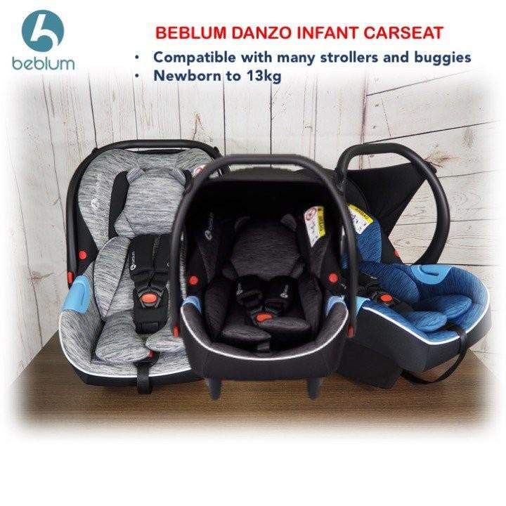 Beblum Danzo Infant Car Seat - Black