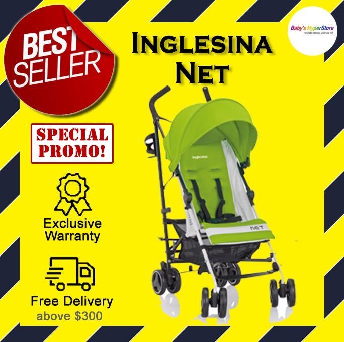 Inglesina Net (Citronella - Green) Stroller  - 6 m