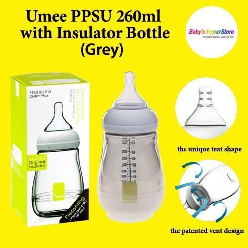 Umee PPSU 260ml with Insulator Bottle