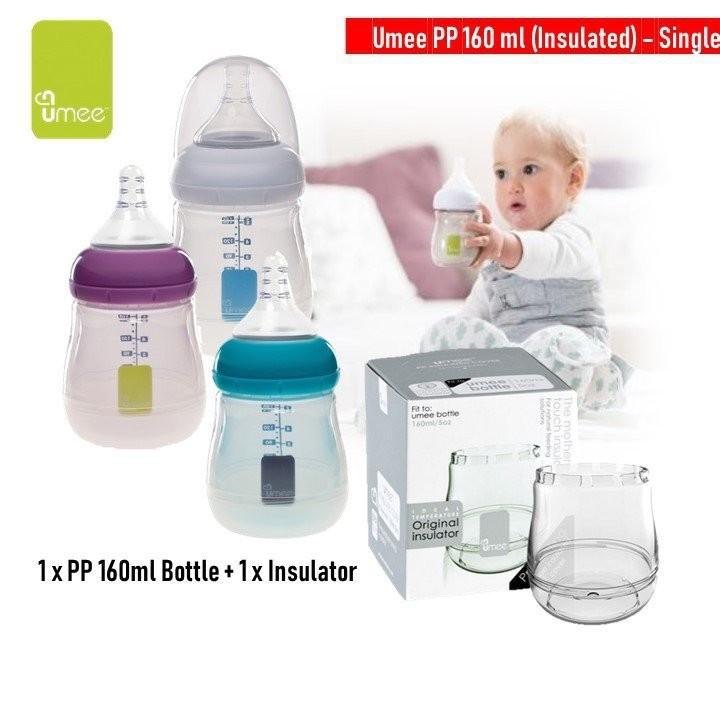 UMEE Pp 160ml bottle Single + Insulated