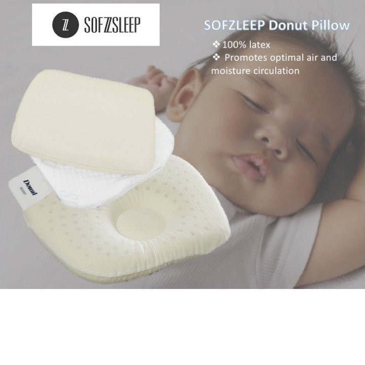 SOFZSLEEP DONUT PILLOW (Made in Belgium!)
