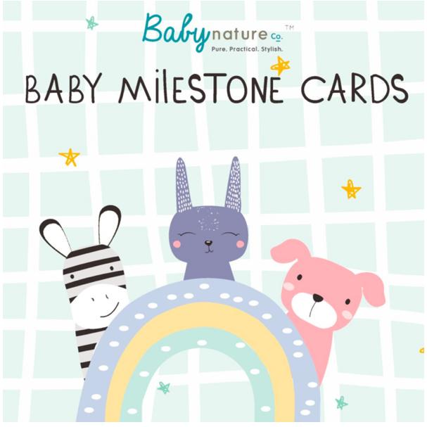 Babynatureco Designer Baby Milestone Cards