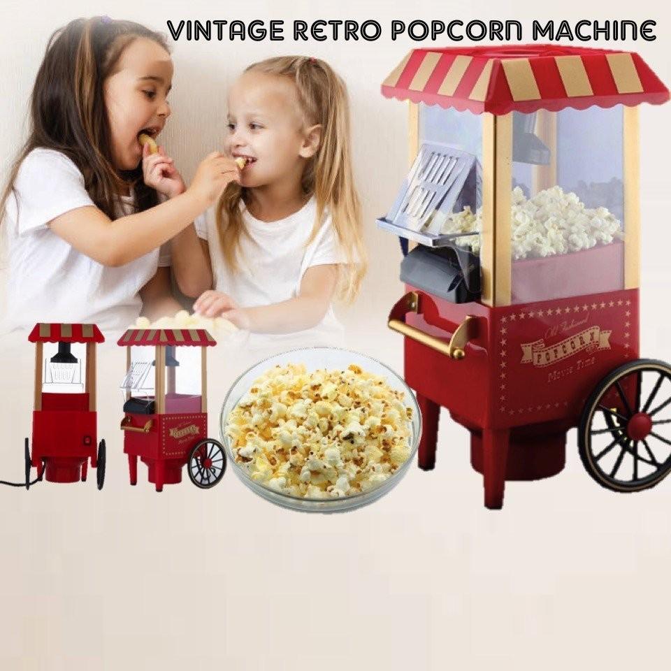 Retro Electric Popcorn Popper Machine