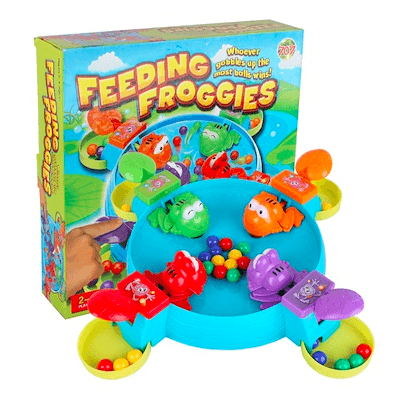 Prime Prod Feed Frog Multiplayer Board Game