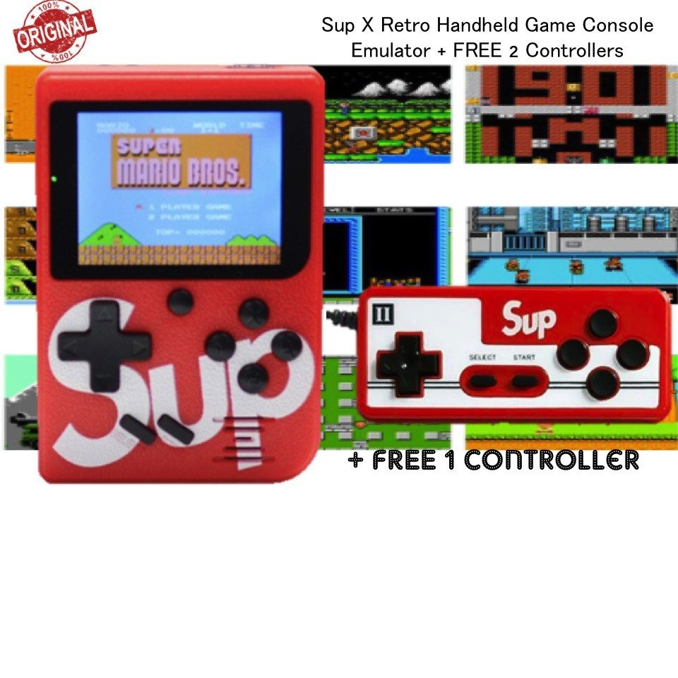 Sup X Retro Handheld Game Console with Built-in 40