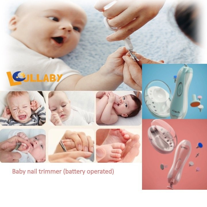 Lullaby Electronic Baby Nail Trimmer (Battery Oper