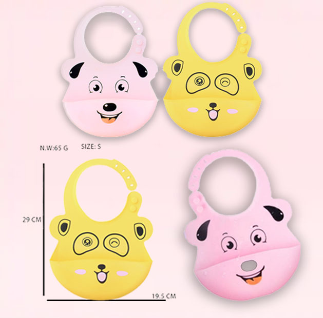 Lullaby Silicone Baby Bib