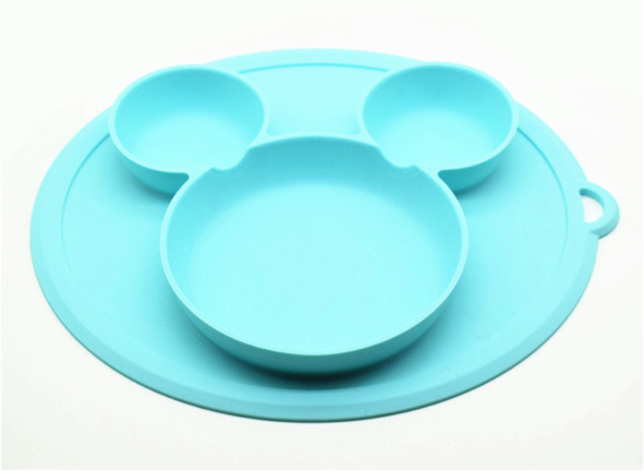Lullaby Mickey Feeding Plate - MUST BUY!! (2 colou