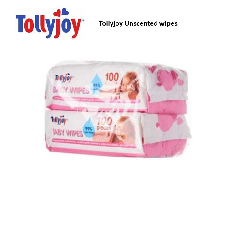 Tollyjoy Unscented Wipes