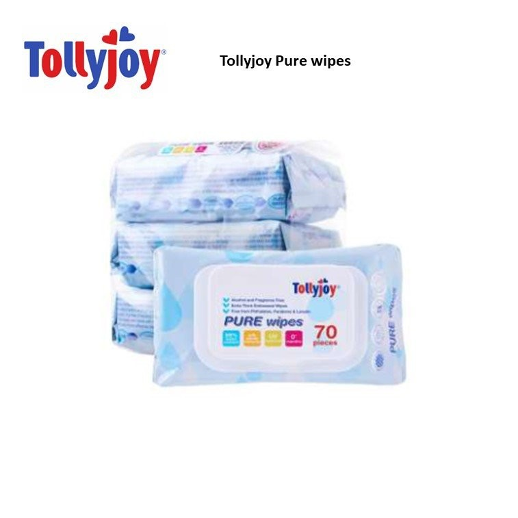 Tollyjoy Pure Wipes Carton Deal