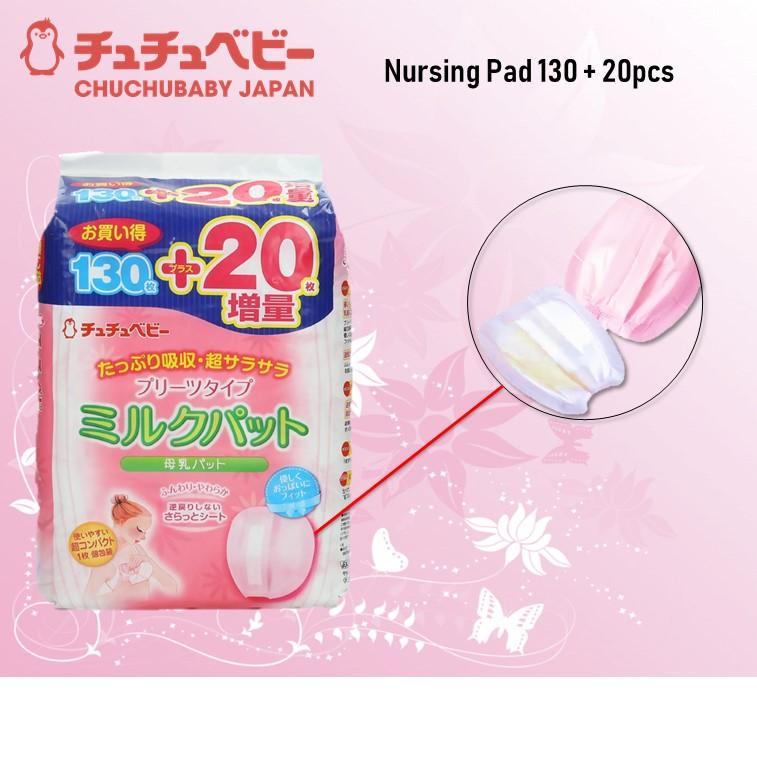 CHU-CHU Nursing Pad 130 + 20 pcs