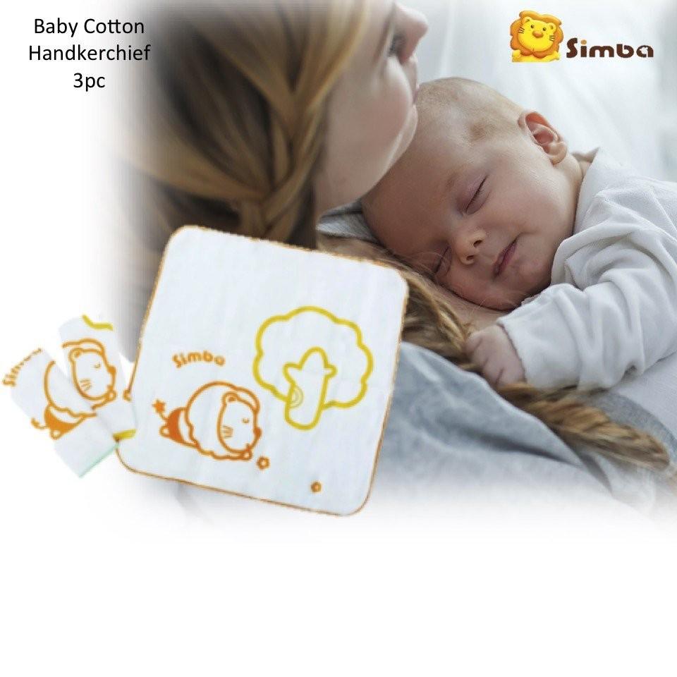 Simba Cotton Handkerchief 3pcs