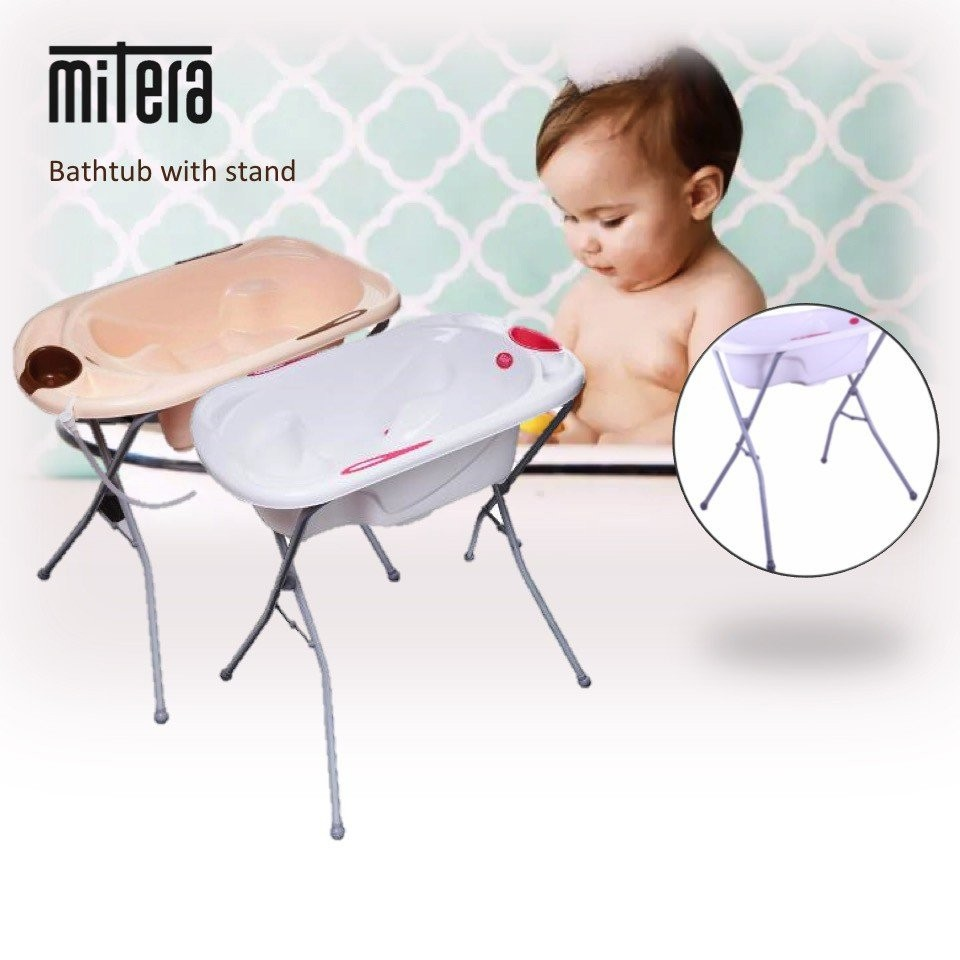 Mitera Bathtub with stand [2 Colours Available]