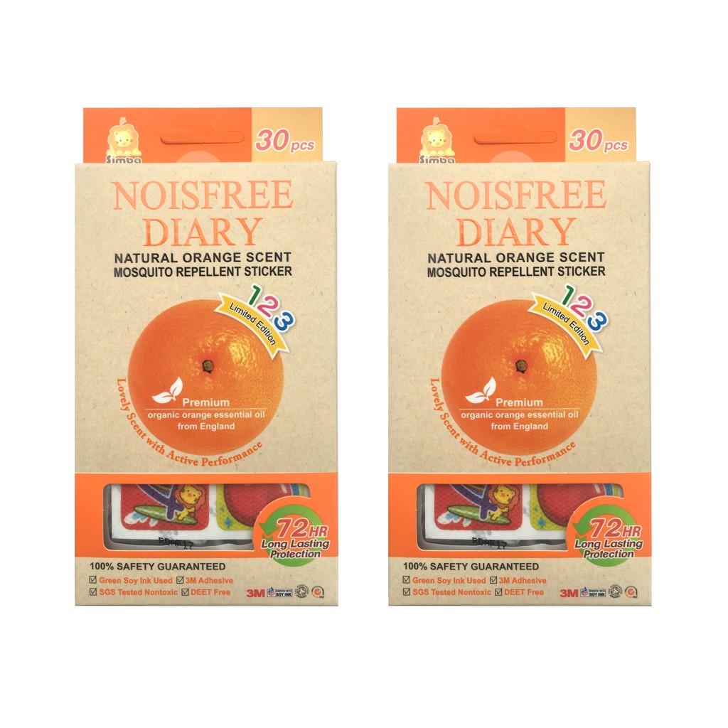 Simba Natural Orange Mosquito Repellent Sticker (3