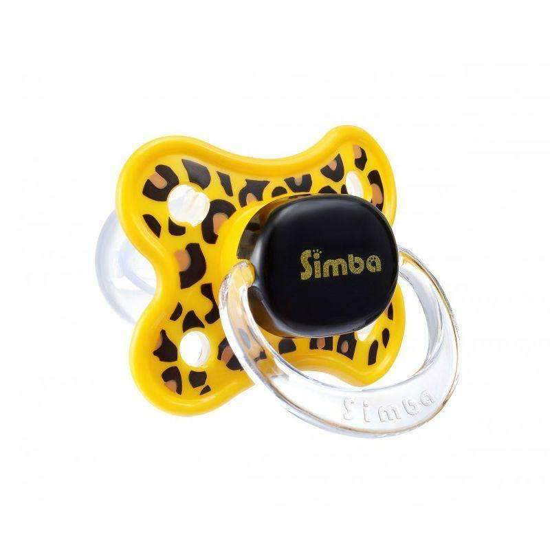 Simba Leopard Thumb Shape Pacifier (6 months+ old)