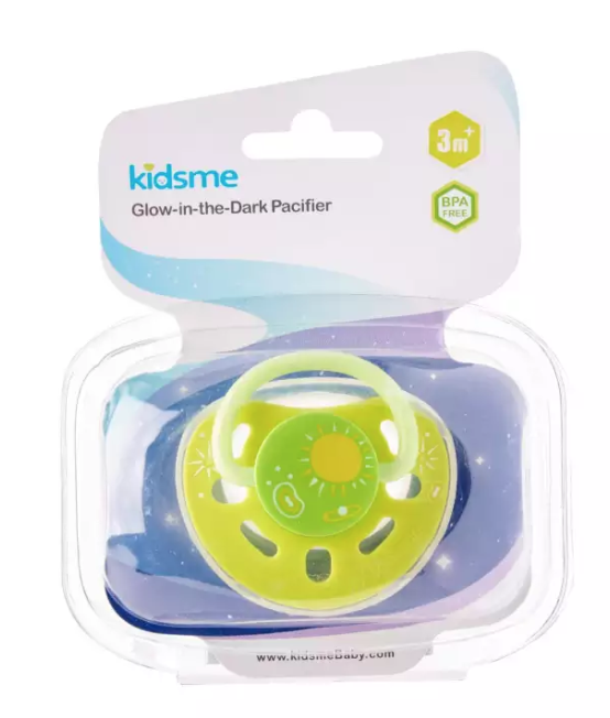 Kidsme Glow in the dark Pacifier (Lime)