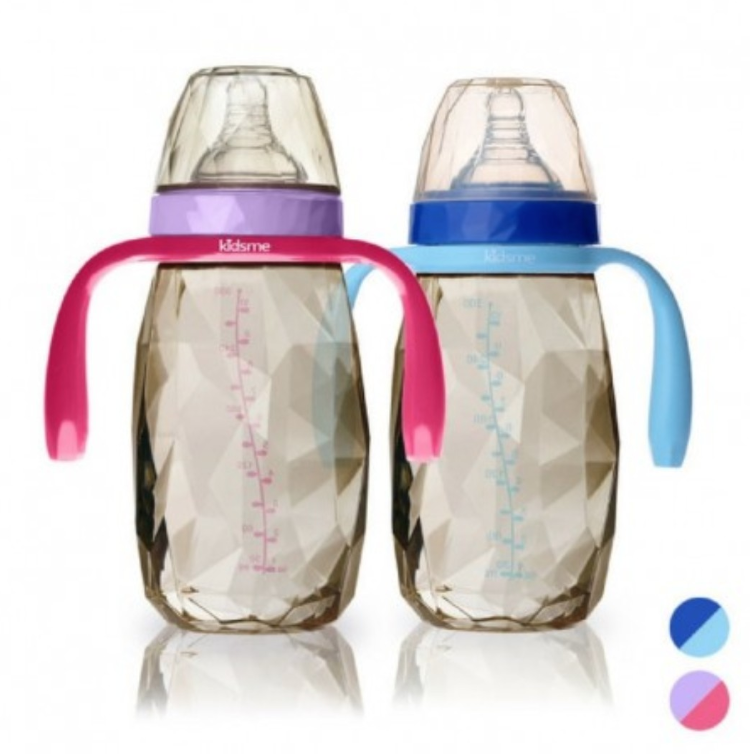 Kidsme PPSU Diamond Wide Bottle 300ml (2 colours)