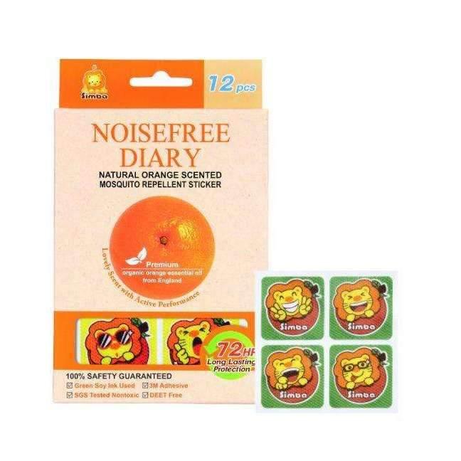 Simba Natural Orange Mosquito Repellent Sticker (1