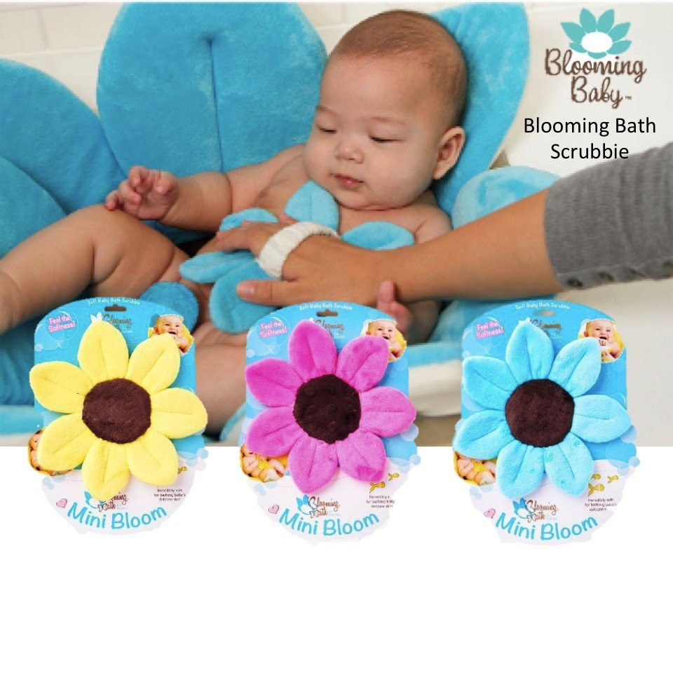 Blooming Baby Bath Scrubbie