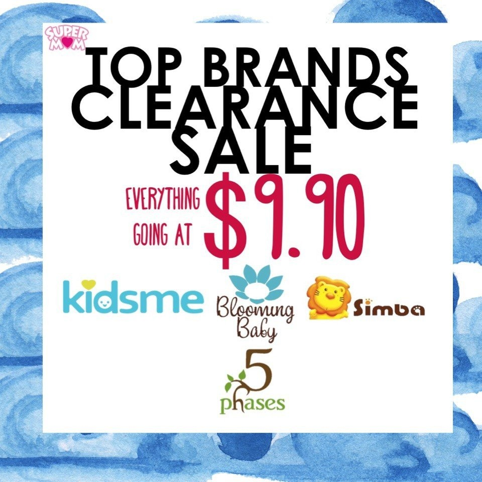 Totsworld Top Brands Clearance Sale! Everything at