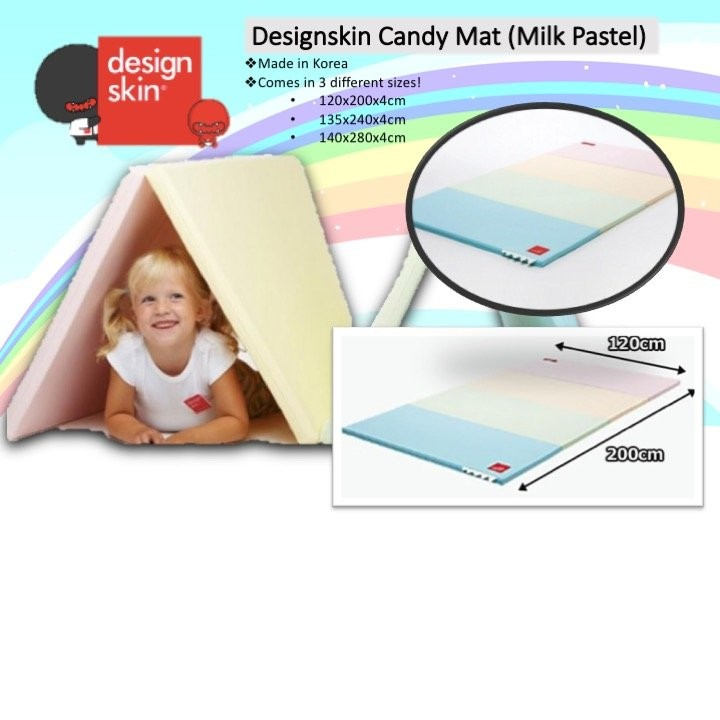 Designskin Candy Mat - Milk Pastel [Available in 3