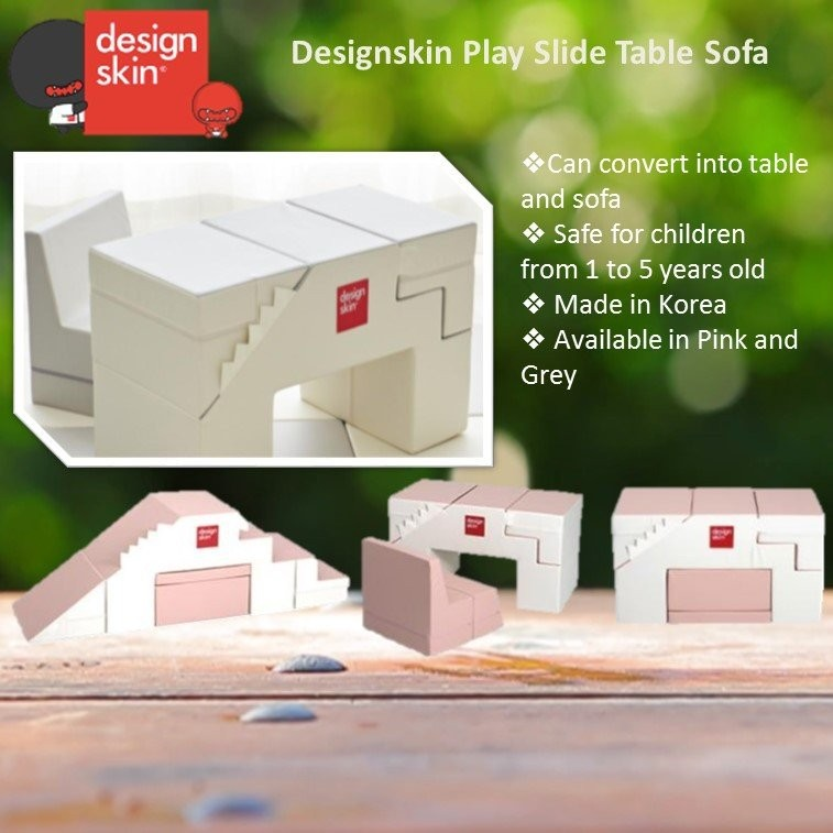 Designskin Play Slide Table Sofa (2 colours)