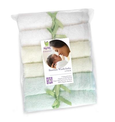 Ways Baby Bamboo Washcloth
