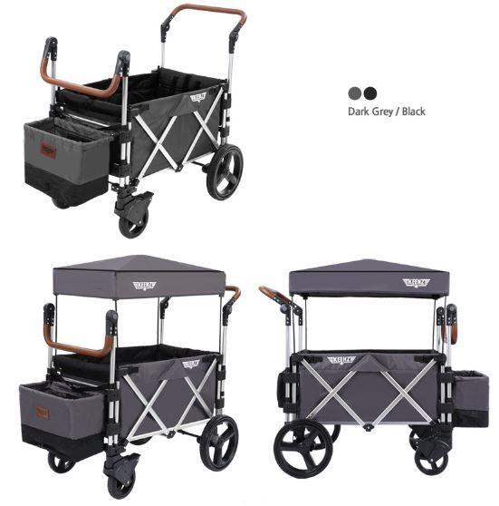 Keenz 7S Premium Deluxe Foldable Wagon-Stroller (D