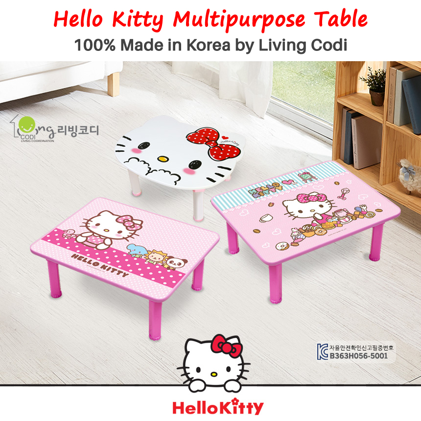 Living Codi Hello Kitty Multipurpose Table (Multip