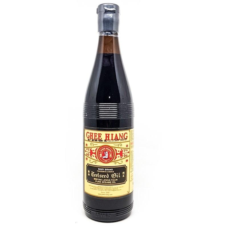 Ghee Hiang Black Sesame Oil