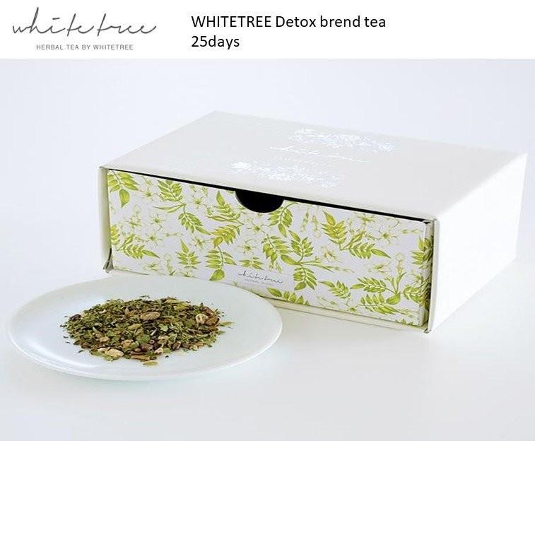 WHITETREE Detox Blend Tea 25days (100% Organic)