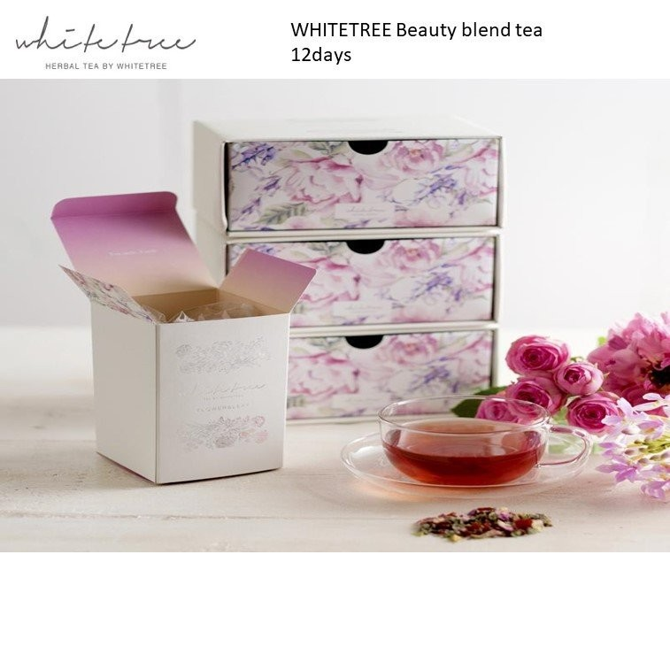 WHITETREE Beauty Blend Tea 12days (100% Organic)