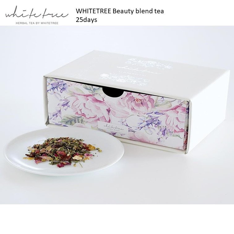 WHITETREE Beauty Blend Tea 25days (100% Organic)