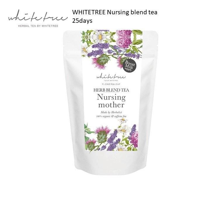 WHITETREE Nursing Mother Blend Tea 25days (100% Or