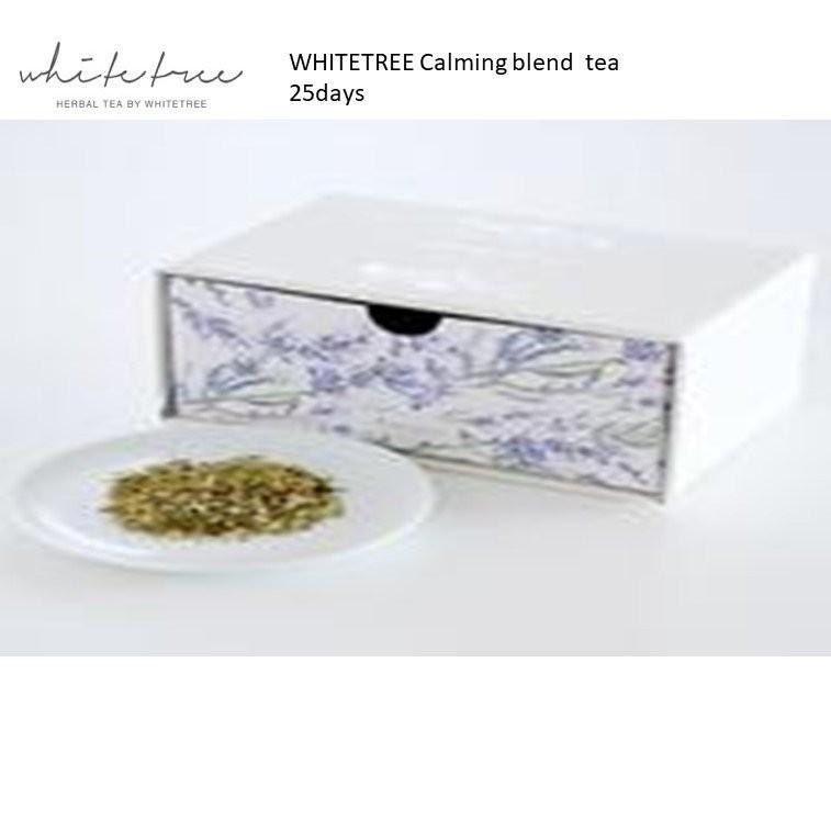 WHITETREE Calming Blend Tea 25days (100% Organic)