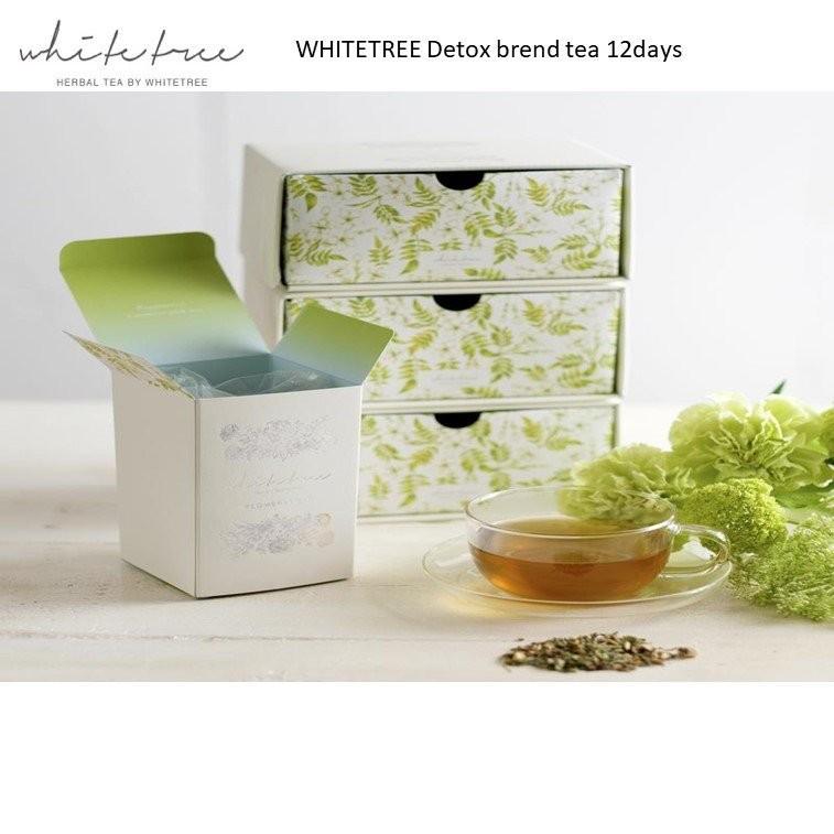 WHITETREE Detox Blend Tea 12days (100% Organic)