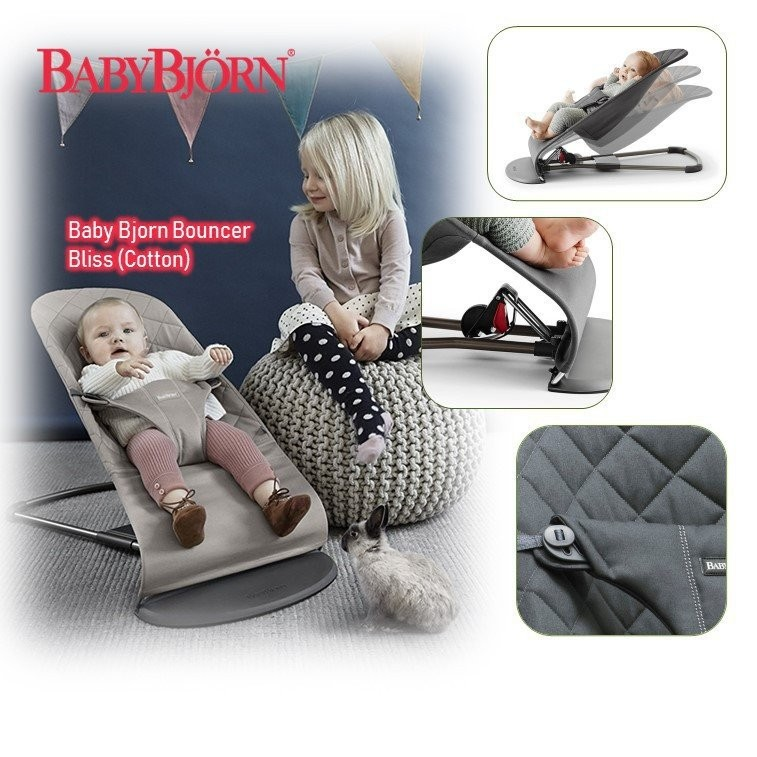 Baby Bjorn Bouncer Bliss [Cotton] (Available in mu