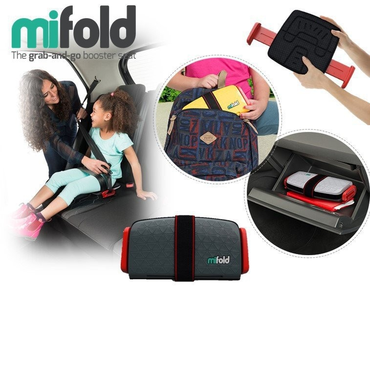 Mifold Grab-and-Go Booster Seat [Available in 3 co