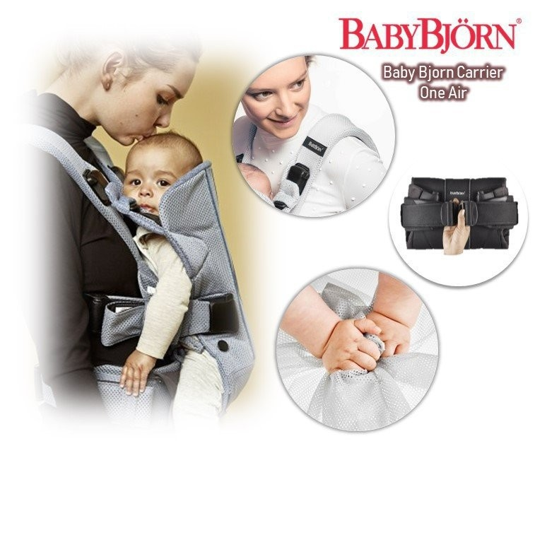 Baby Bjorn Carrier One Air (available in two colou