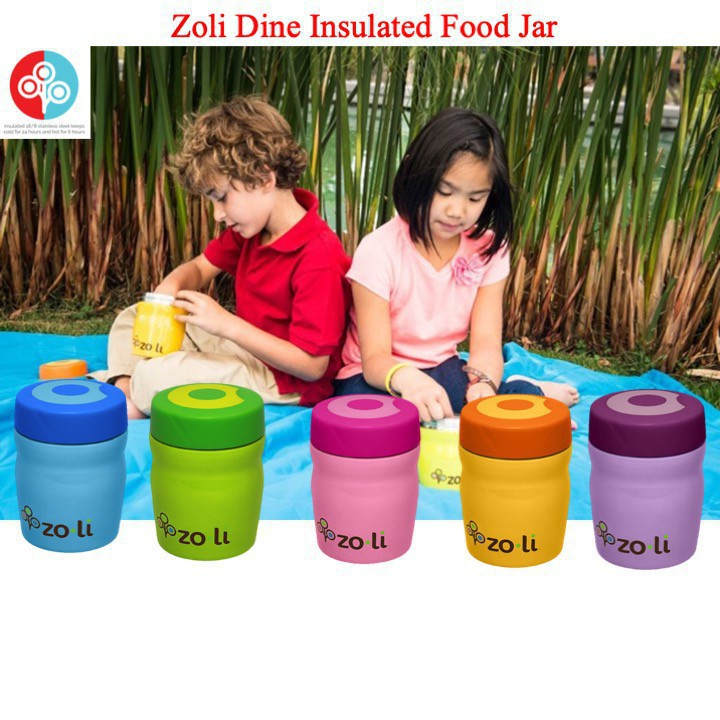 Zoli Dine Insulated Food Jar [Available in 5 colou