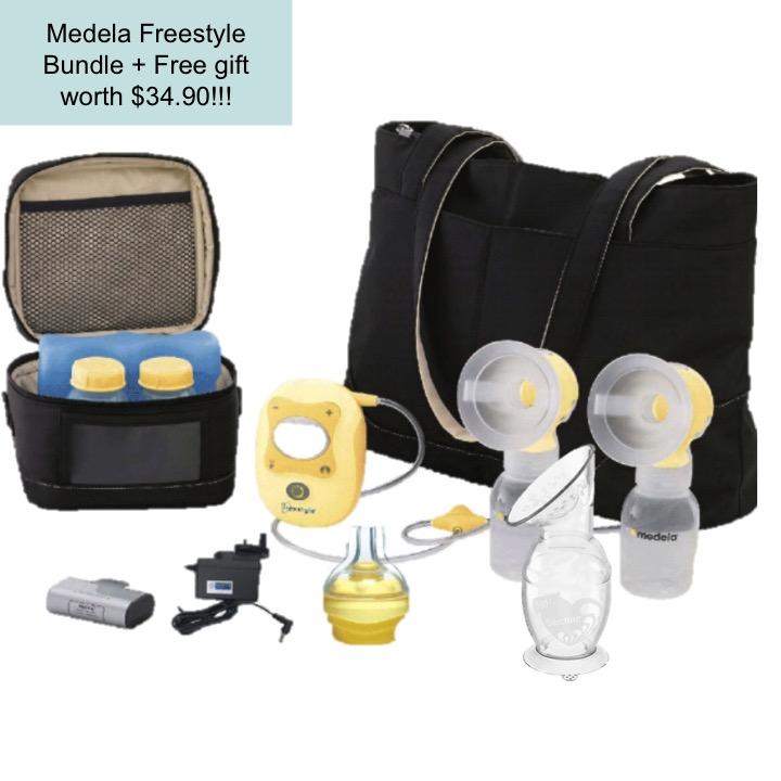 Medela Freestyle Bundle + Free gift worth of $34.9
