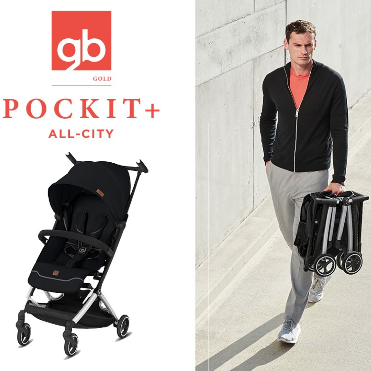 GB Pockit+ All City Stroller 2020 New Version