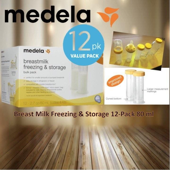 Medela Breast Milk Freezing & Storage Pack 80 ml