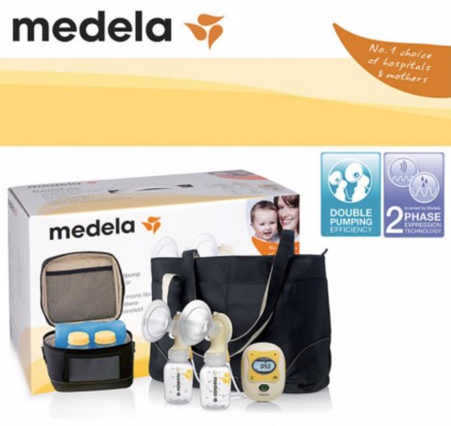 Medela Freestyle Bundle + 2x set of kidsme ppsu di