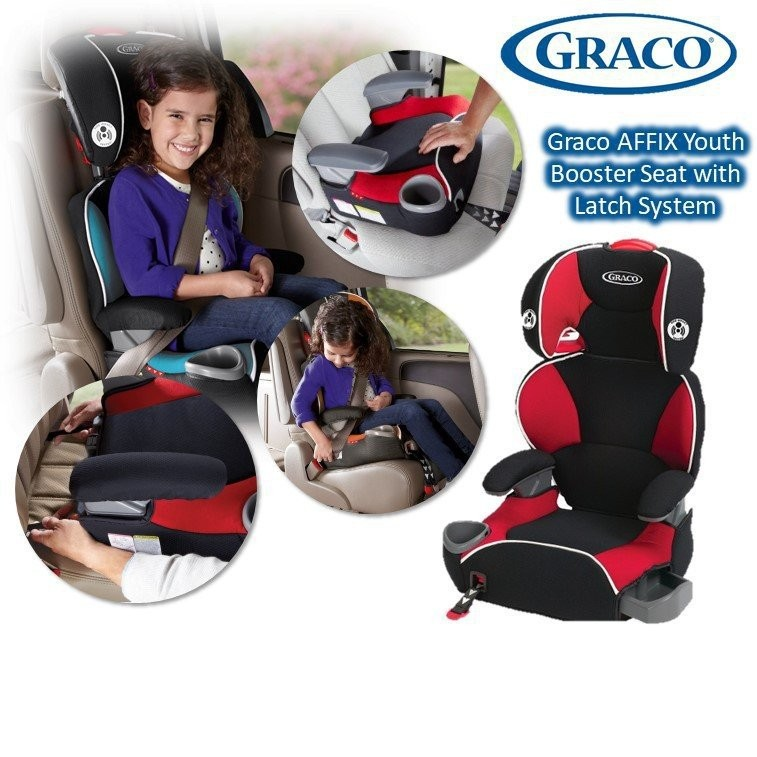 Graco AFFIX Youth Booster Seat with Latch  [Availa
