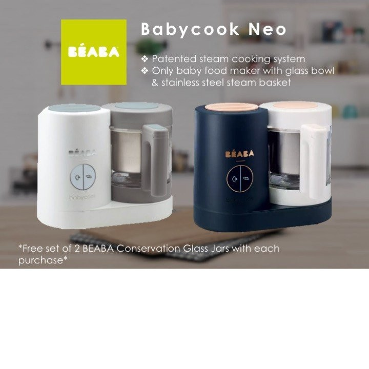 Beaba Babycook Neo (2 colours available)