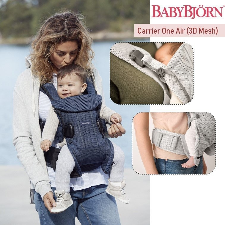 Baby Bjorn Carrier One Air, 3D Mesh (2018) [Availa