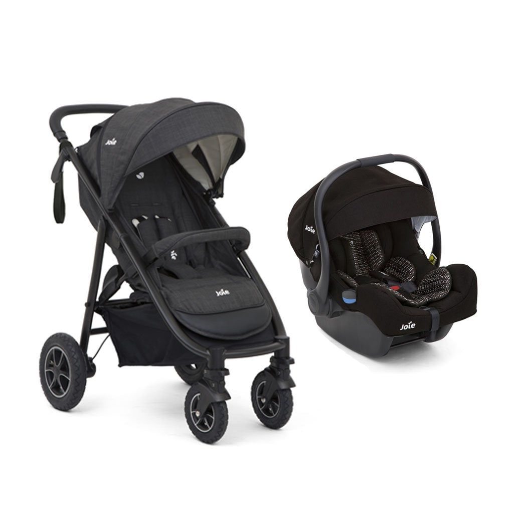 Joie Mytrax S Stroller (Pavement) + i-Gemm Infant