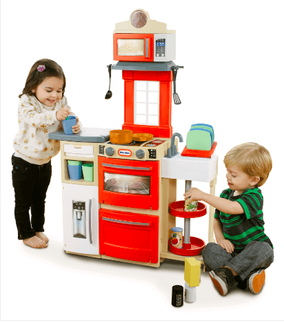 Little Tikes Cook N Store Kitchen (Red)